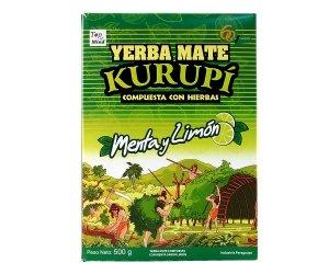 Yerba Mate Kurupi kurupi Menta y Limon 500 g