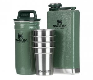 Zestaw STANLEY piersiówka Adventure Steel Shots + Flask Gift Set (zielony)