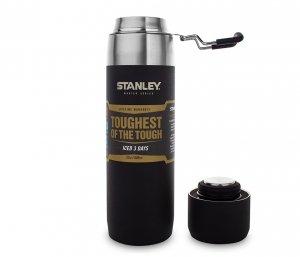 Butelka termiczna STANLEY Master Water Bottle 650 ml (czarny)