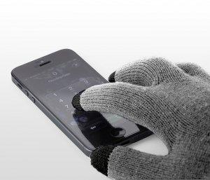 Rękawiczki do smartfona 3INGER (szare)