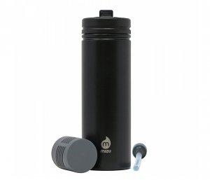 Butelka z filtrem do wody M9 820 ml MIZU 360 Adventure Kit (czarny) nanotechnologia NASA