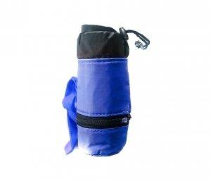 Pokrowiec termiczny na butelkę SNOKEY (niebieski)
