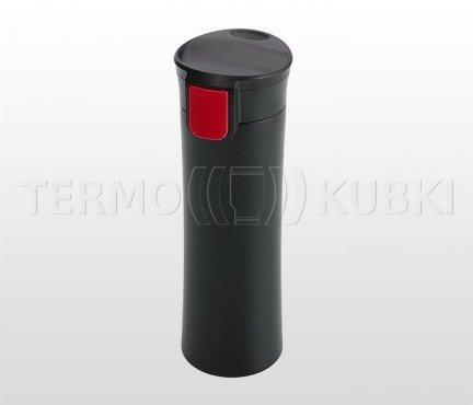 Kubek termiczny 540 ml ASTON (czarny/czerwony)