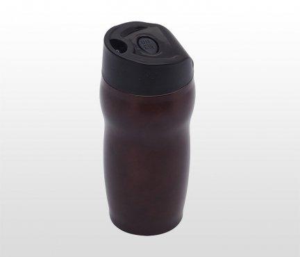 Kubek termiczny 270 ml SMILE (brązowy)