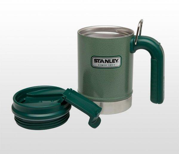 Kubek termiczny Stanley Classic Vacuum Camp Mug 470 ml (zielony)
