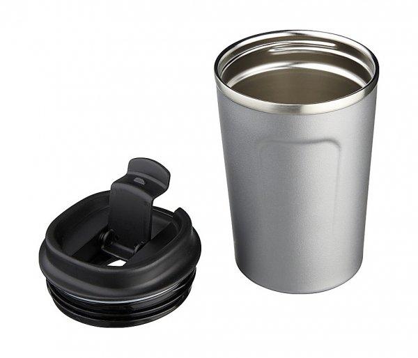 Kubek termiczny COPPER MINI 380 ml z miedzianą izolacją grafitowy