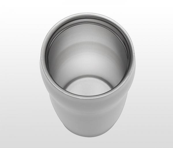 Kubek termiczny 270 ml SMILE (biały)