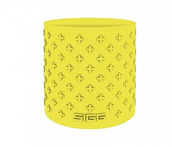 Termos szklany SIGG WMB z zaparzaczem HOT & COLD Glass 400 ml Lemon