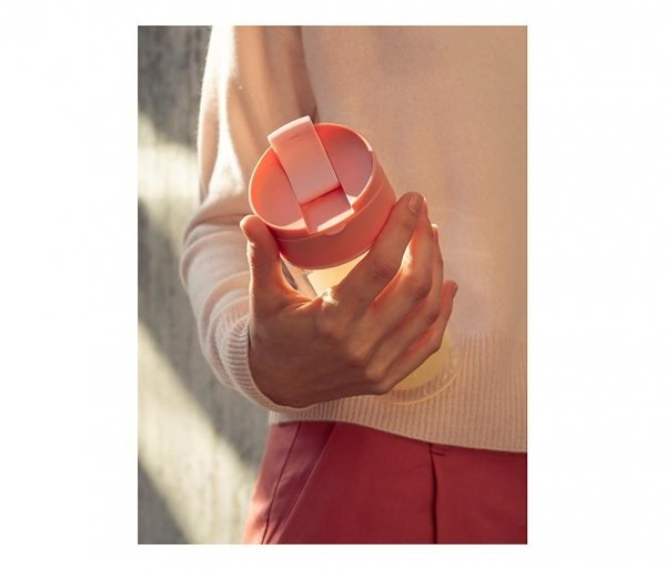 Kubek termiczny szklany szczelny SIGG Mug Lemon 370 ml żółty
