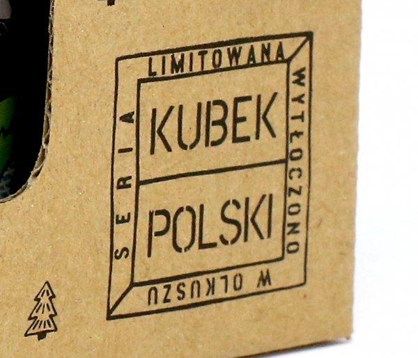 Kubek Polski Skiturowy emaliowany 350 ml biały