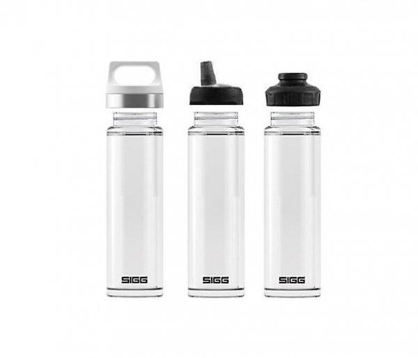 Termos szklany SIGG WMB z zaparzaczem HOT & COLD Glass 400 ml Biały