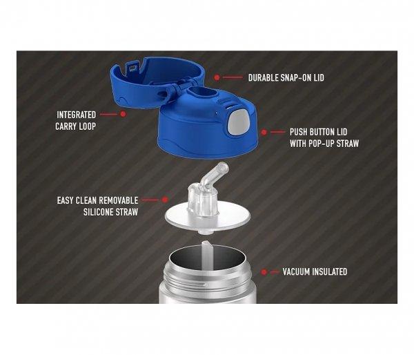 Nakrętka, przykrywka do kubków Thermos FUNtainer 355 ml i 470 ml niebieski