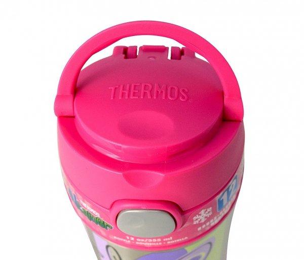 Nakrętka, przykrywka do kubków Thermos FUNtainer 355 ml i 470 ml różowy