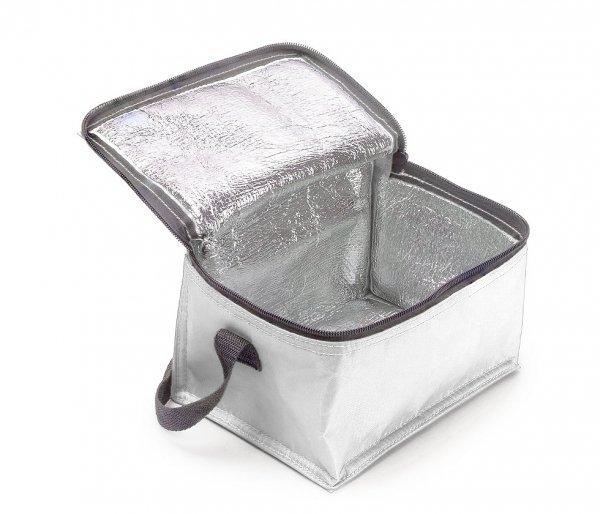Torba termiczna z paskiem IGLO biały