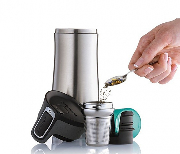Zaparzacz do kubka CONTIGO West Loop 2 Tea Infuser stalowy