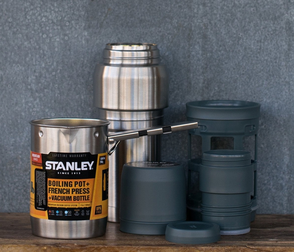 Termos STANLEY All In One COFFEE SYSTEM 500 ml czarny