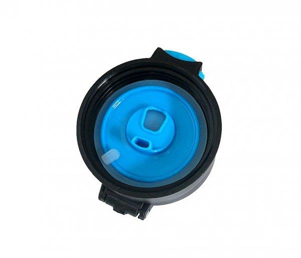 Kubek termiczny 600 ml T-READY2 czarny/niebieski