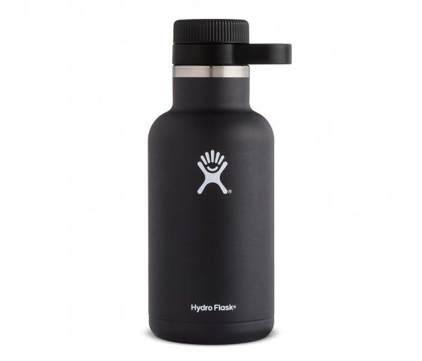 Termos na piwo Hydro Flask Growler Wide Mouth 1900 ml czarny