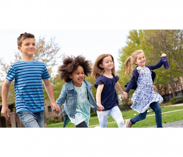 Kubek dla dzieci ze słomką Thermos FUNtainer 355 ml motyw sport