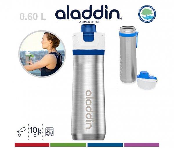 Bidon termiczny 600 ml Aladdin Active Hydration niebieski