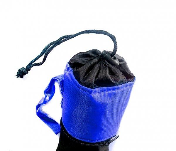 Pokrowiec termiczny na butelkę SNOKEY niebieski