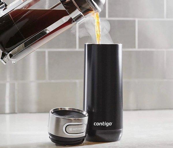 Kubek termiczny Contigo Luxe 470 ml Licorice czarny