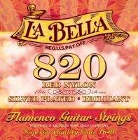 LABELLA 820  STRUNY 820  FLAMENCO CZERWONE