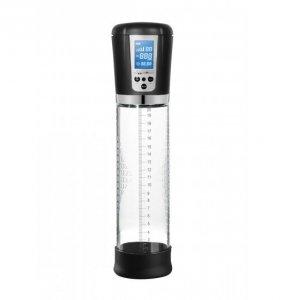Shots Pumped Premium Rechargeable Automatic LCD Pump Transparent