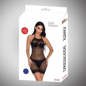 Body Pleasure - Sexy Lingerie Set - one size - black TL129