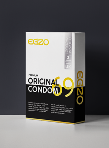 Prezerwatywy EGZO tradicional condom ORIGINAL 3pc
