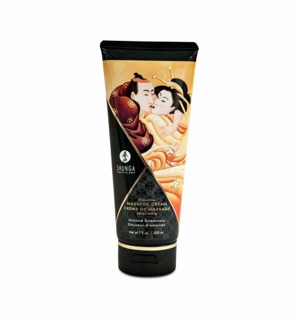 Shunga - Almond Sweetness Kissable Massage Cream 200 ml
