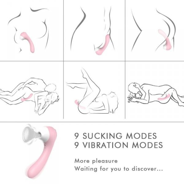 Stimolatore clitorideo Pink Obsession Toyz4Lovers