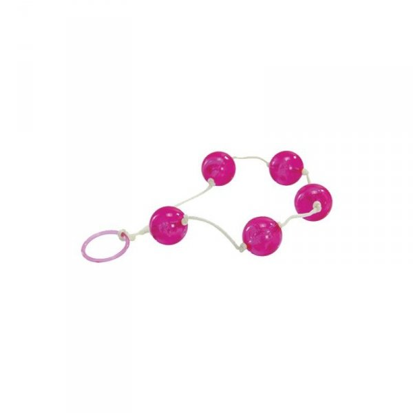 Kulki-JAMMY JELLY ANAL LOVE BALLS PINK