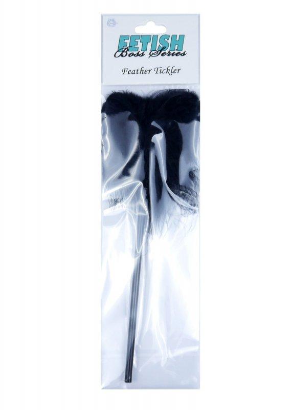 Feather Tickler Black - Boss Series Fetish
