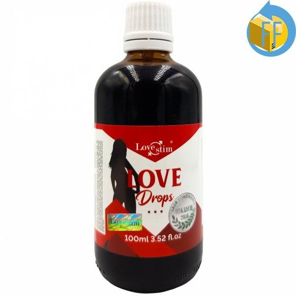 Love Drops niesamowicie mocne krople podniecające potężne składniki
