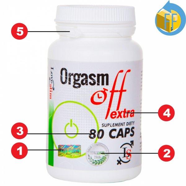 Orgasm Off 80cps. najmocniejszy suplement opóźnia wytrysk