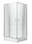 Kabina prysznicowa kwadratowa Modern 165 niska 90x90 cm