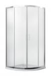 Kabina prysznicowa półokrągła Modern 185 90x90 cm mrożona
