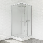 Kabina prysznicowa duso kwadratowa 80 transparent