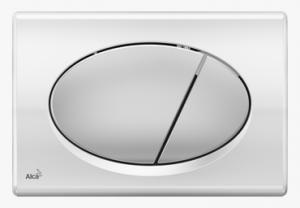 Przycisk chrom-połysk/mat M73