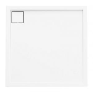 Brodzik kwadratowy 90x90x5,5 Omega Stabilsound Plus