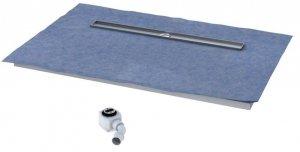 Schedpol Odpływ liniowy płyta spadkowa 70x140 cm ruszt STEEL