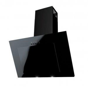 WYPRZEDAŻ Okap kuchenny kominowy CUBA czarny 60 cm