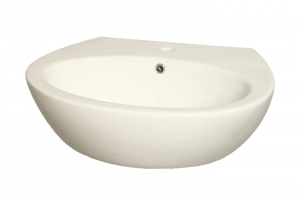 WYPRZEDAŻ Umywalka Nablatowa/Wisząca Ceramiczna SeaHorse Lena 60
