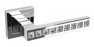 Klamka GLORIA do drzwi wewnętrznych na rozecie kwadratowej KLO_000A