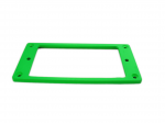 Ramka humbuckera płaska, skośna 4/5mm green fluorescent