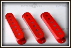 Komplet osłon przetworników single-coil SET RED