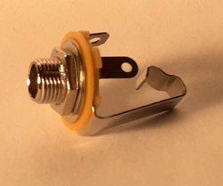 Gniazdo Jack mono 6,3 mm EJ-09