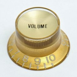 Gałka Typ KB17 Volume Gibson GOLD