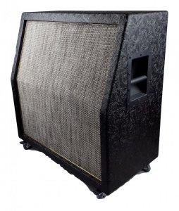 Kolumna  4x12 VERTICAL WESTERN BLACK